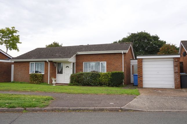 Thumbnail Detached bungalow for sale in Chaplin Road, East Bergholt, Colchester