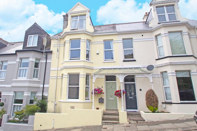 Thumbnail Town house for sale in Gleneagle Road, Mannamead, Plymouth