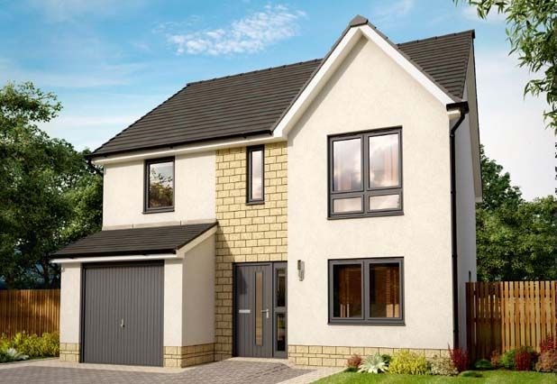 "Thumbnail Detached house for sale in ""Tuscan Strathearn Gardens"" at Townhead, Auchterarder"