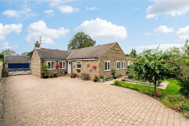 Thumbnail Detached bungalow for sale in Cobblestones, New Road, Scotton, Knaresborough