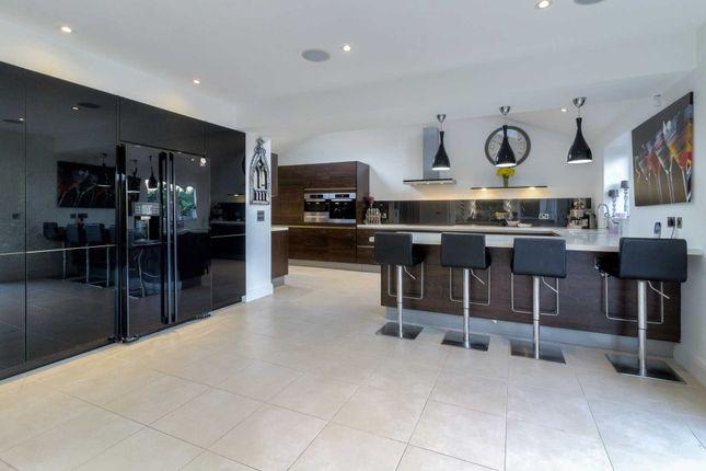 Thumbnail Detached house for sale in Trevithick Lane, Shenley Lodge, Milton Keynes