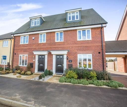 Thumbnail Semi-detached house for sale in Kendle Road, Swaffham