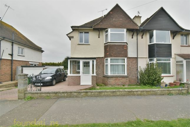 Thumbnail Semi-detached house for sale in Cranston Avenue, Bexhill-On-Sea, East Sussex