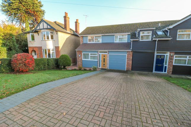 Thumbnail Semi-detached house for sale in Belle Vue Road, Wivenhoe, Colchester