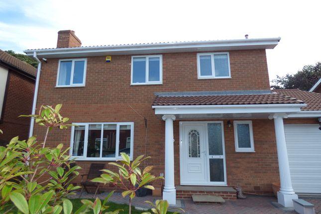 Thumbnail Detached house for sale in Wansbeck Mews, Ashington