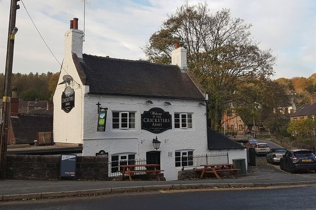 Thumbnail Pub/bar for sale in Staffordshire Peak District Riverside Freehouse ST10, Oakamoor, Staffordshire