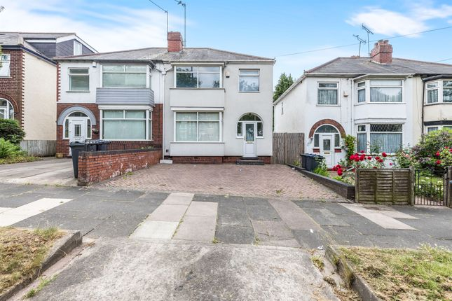 Thumbnail Semi-detached house for sale in Hagley Road West, Quinton, Birmingham