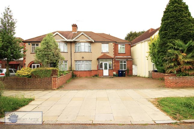 Thumbnail Semi-detached house for sale in Alleyn Park, Southall