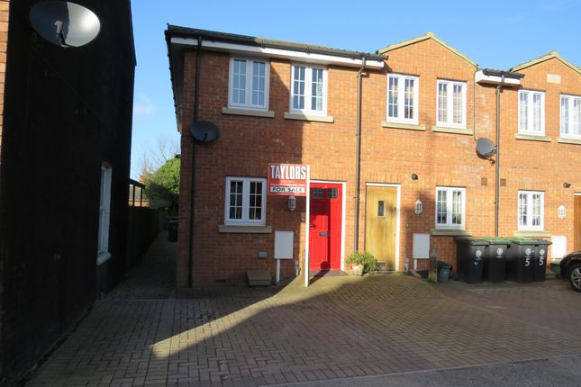 Thumbnail End terrace house for sale in East Grove, Rushden