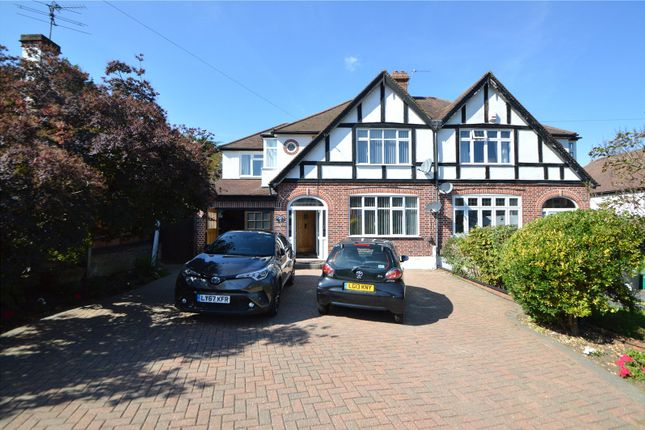 Thumbnail Semi-detached house to rent in Sundown Avenue, Sanderstead, South Croydon