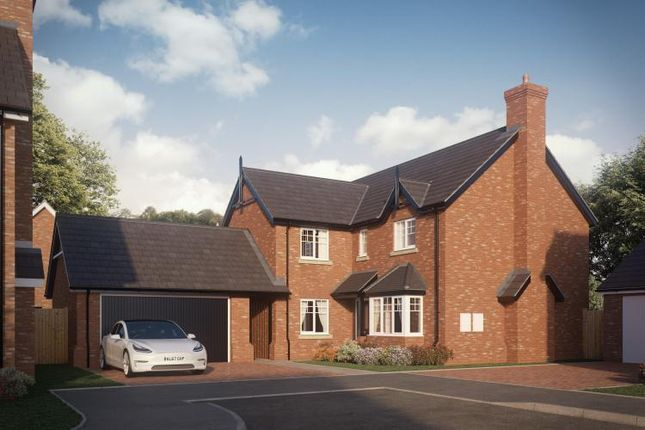 Thumbnail Detached house for sale in Abbots Lea. Off Shrewsbury Road, Hadnall, Shrewsbury