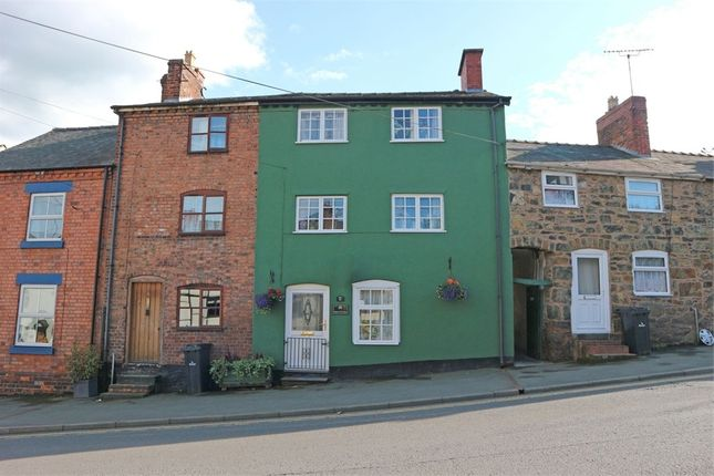 Thumbnail Terraced house for sale in Mount Street, Welshpool, Powys