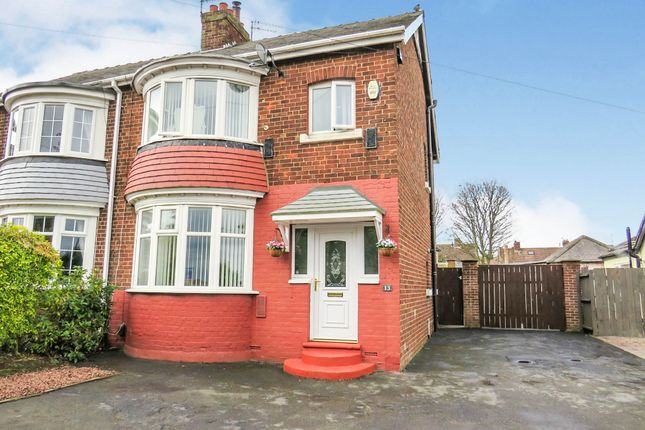 Thumbnail Semi-detached house for sale in Ormesby Bank, Ormesby, Middlesbrough
