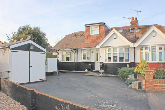 Thumbnail Bungalow for sale in Chiltern Gardens, Hornchurch