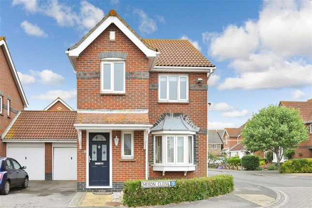Thumbnail Link-detached house for sale in Mixon Close, Selsey, Chichester, West Sussex
