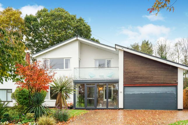 Thumbnail Detached house for sale in Lodge Close, Lisvane
