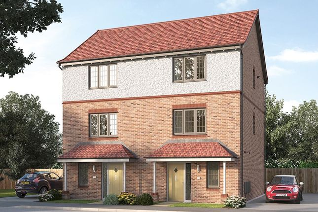 "Thumbnail Semi-detached house for sale in ""The Paignton"" at Steeplechase Way, Market Harborough"