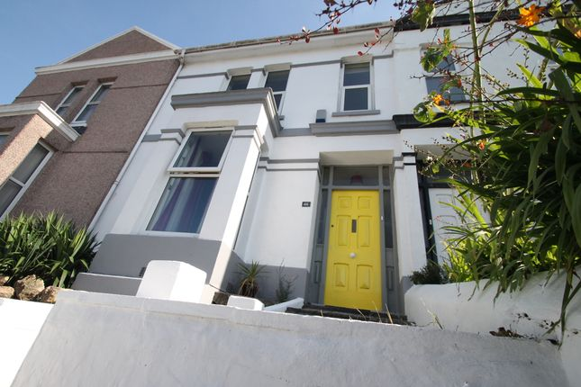 Thumbnail Terraced house for sale in Furzehill Road, Plymouth