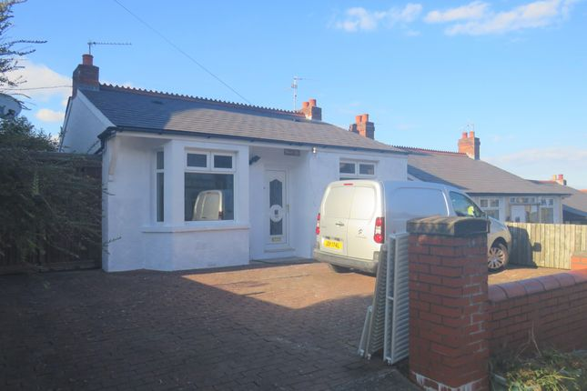 Thumbnail Bungalow to rent in Barry Road, Barry
