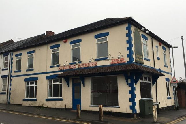 Thumbnail Retail premises for sale in 54-56, Anchor Road, Longton, Stoke-On-Trent