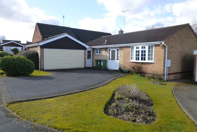 Thumbnail Bungalow for sale in St Peters Close, Glenfield, Leicester.