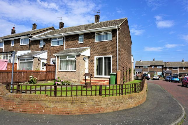 Thumbnail End terrace house for sale in St. Michaels, Fencehouses, Houghton Le Spring