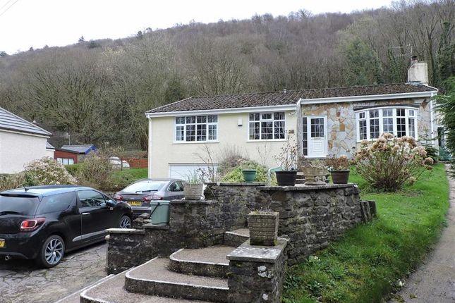Thumbnail Detached bungalow for sale in Llwyndu Lane, Glais, Swansea