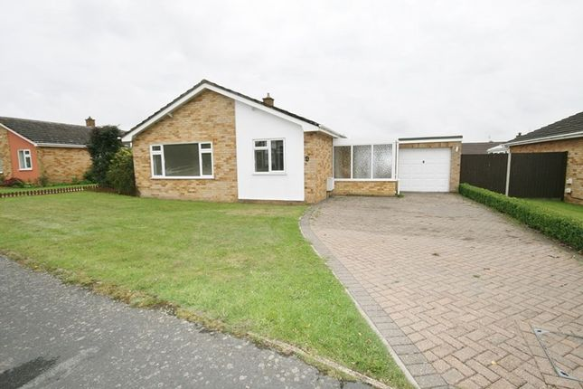 Thumbnail Detached bungalow for sale in Cedar Drive, Attleborough