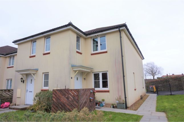 End terrace house for sale in Heol Cae Tynewydd, Loughor