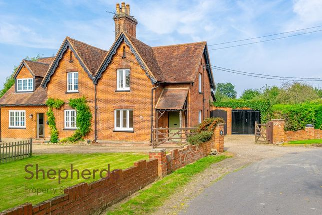 Thumbnail Semi-detached house to rent in Back Lane, Nazeing, Essex