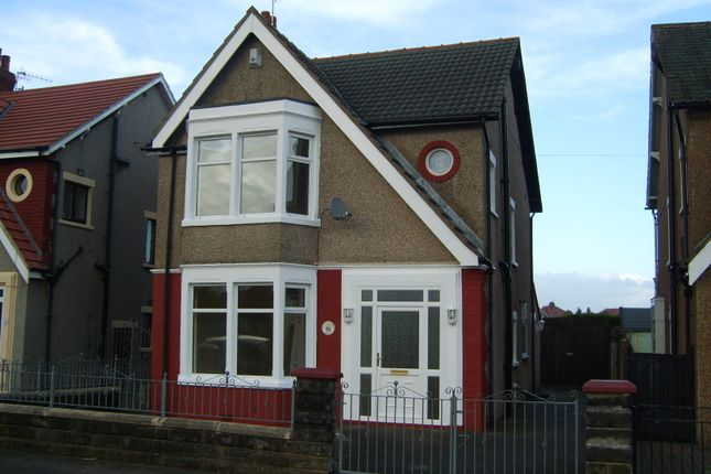 Detached house to rent in Albert Road, Morecambe