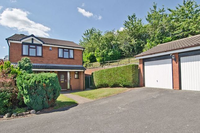 4 bed detached house for sale in Boulton Close, Hunslet, Burntwood WS7