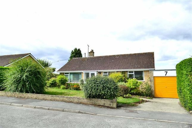 Thumbnail Detached bungalow for sale in Olivers Close, Cherhill, Calne