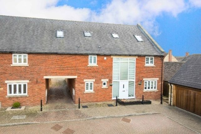 Thumbnail Semi-detached house for sale in The Paddocks, Stanion, Kettering
