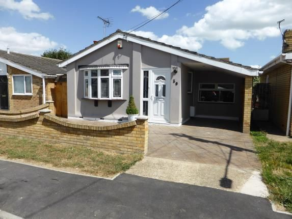 Thumbnail Bungalow for sale in Hallet Road, Canvey Island