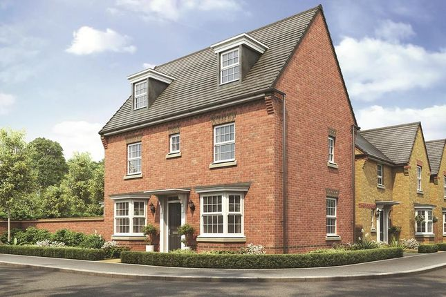 "Thumbnail Detached house for sale in ""Hertford"" at Station Road, Chelford, Macclesfield"