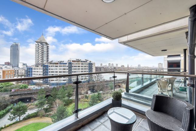 Thumbnail Flat for sale in Harbour Reach, Imperial Wharf, London