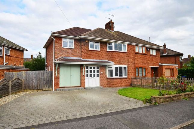 Thumbnail Semi-detached house for sale in Pelham Crescent, Churchdown, Gloucester