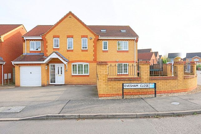 Thumbnail Detached house for sale in Evesham Close, Wellingborough