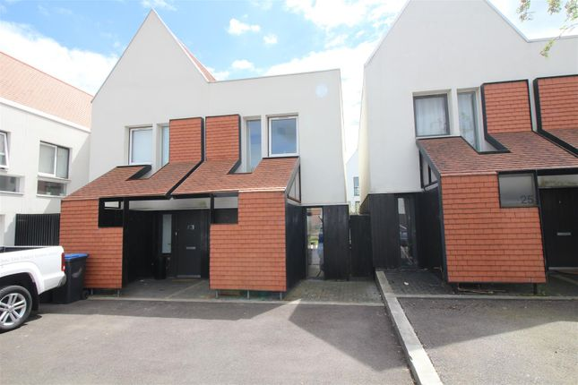 Thumbnail Semi-detached house for sale in Brickcroft Hoppit, Newhall, Harlow