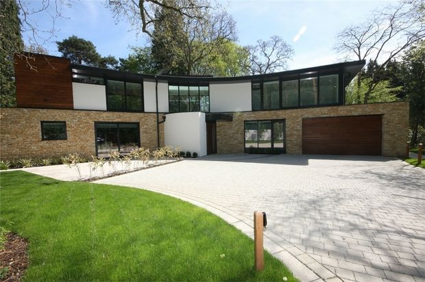 Thumbnail Detached house for sale in Wilderton Road, Branksome Park, Poole, Dorset