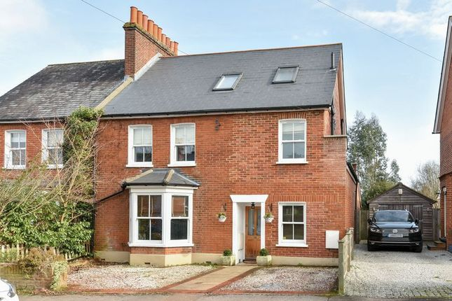 Thumbnail Semi-detached house for sale in Glebe Road, Ashtead