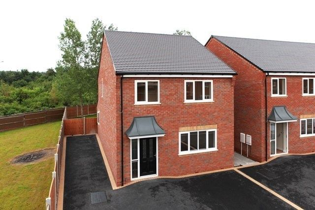 Thumbnail Detached house to rent in Ambleside Way, Donnington Wood, Telford