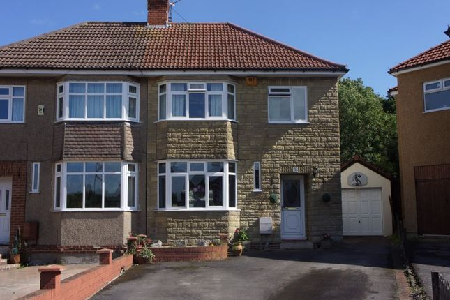 Thumbnail Semi-detached house for sale in Saltwell Avenue, Whitchurch Village, Bristol