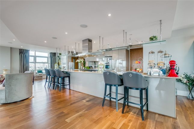 Thumbnail Flat for sale in Ensign House, Juniper Drive, London