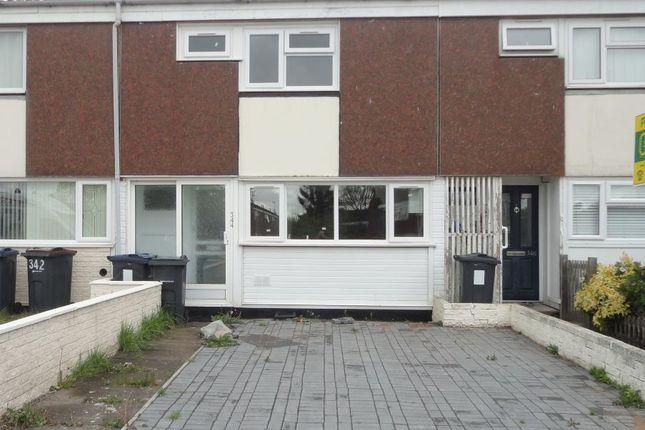 Thumbnail Town house for sale in 344 Sheldon Heath Road, Garretts Green, Birmingham, West Midlands