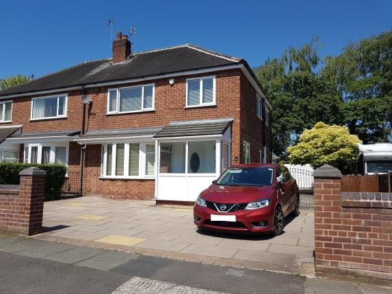 Thumbnail Semi-detached house for sale in Dunnisher Road, Manchester, .