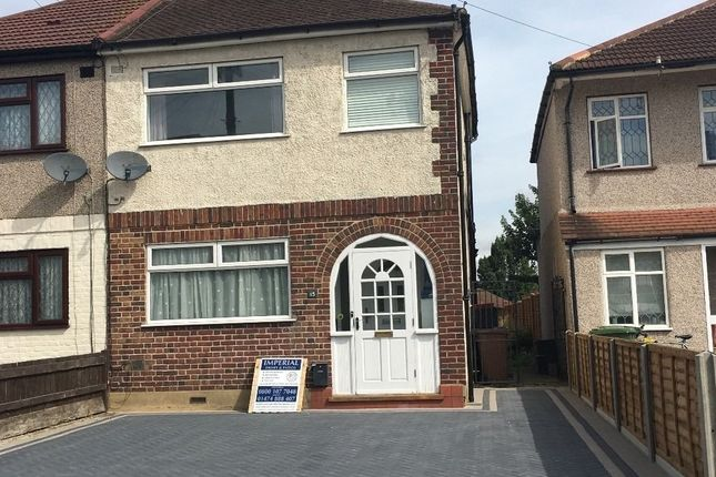 Thumbnail Semi-detached house to rent in Lochmere Close, Erith