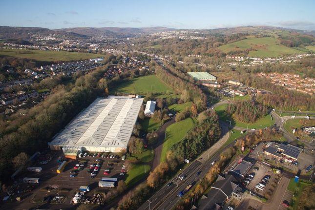 Thumbnail Industrial to let in Skewfields, Lower Mill, Pontypool