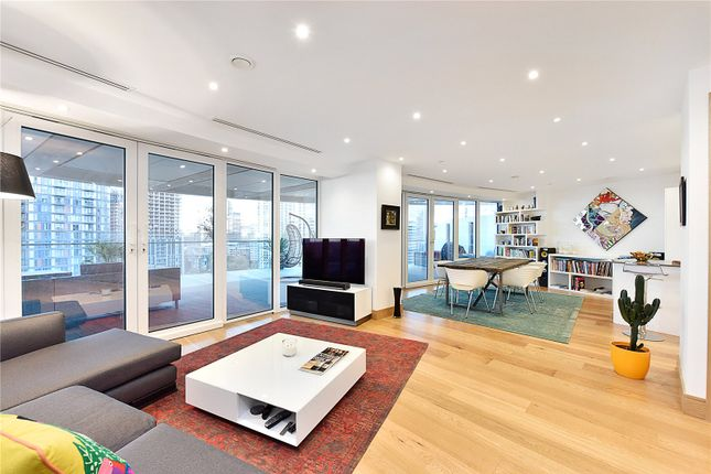 Reception of Arena Tower, 25 Crossharbour Plaza, London E14